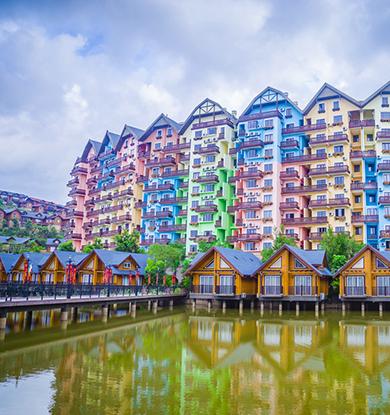 这些彩色房子美翻了!
