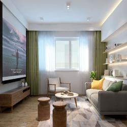 理居室内设计:莲花广场日式风格