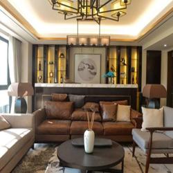 哇屋装修:万科城新中式风格