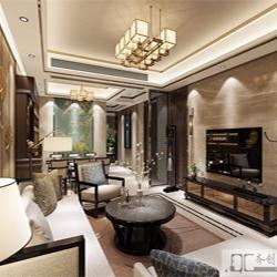 齐创设计:海沧天湖城新中式