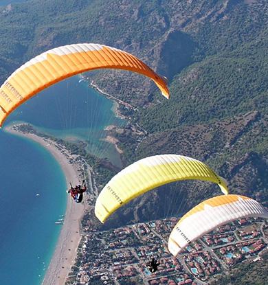 周边游新玩法推荐!滑翔伞带你上天!