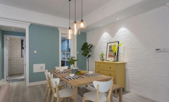 宅居宅修装饰:清爽舒适的现代北欧风