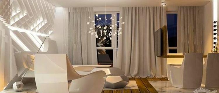 现代高科技质感私人住宅,你喜欢吗?