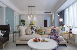 宅居宅修装饰:130平方现代北欧