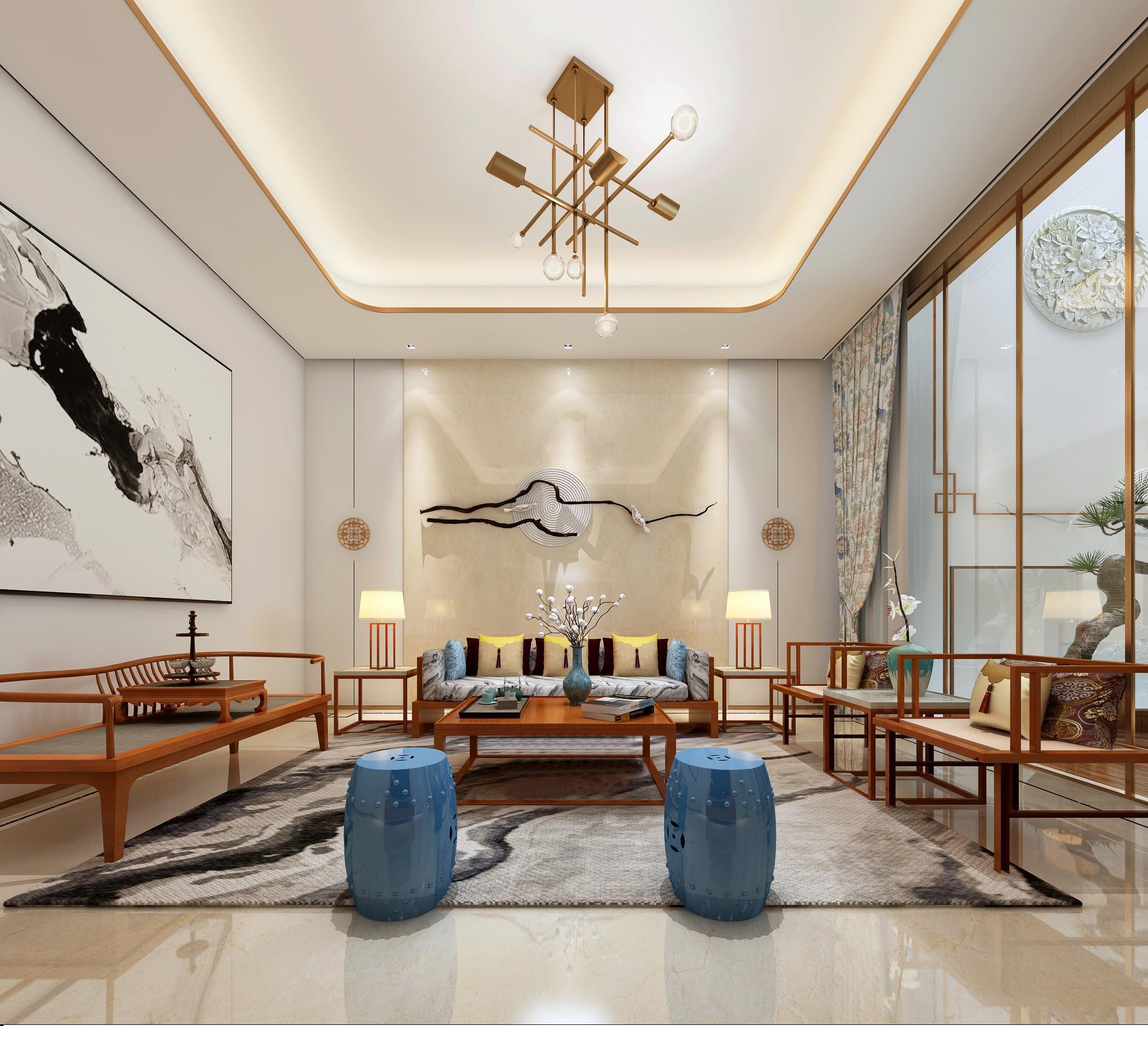 龙湖·春江郦城现代简约风格装修案例欣赏