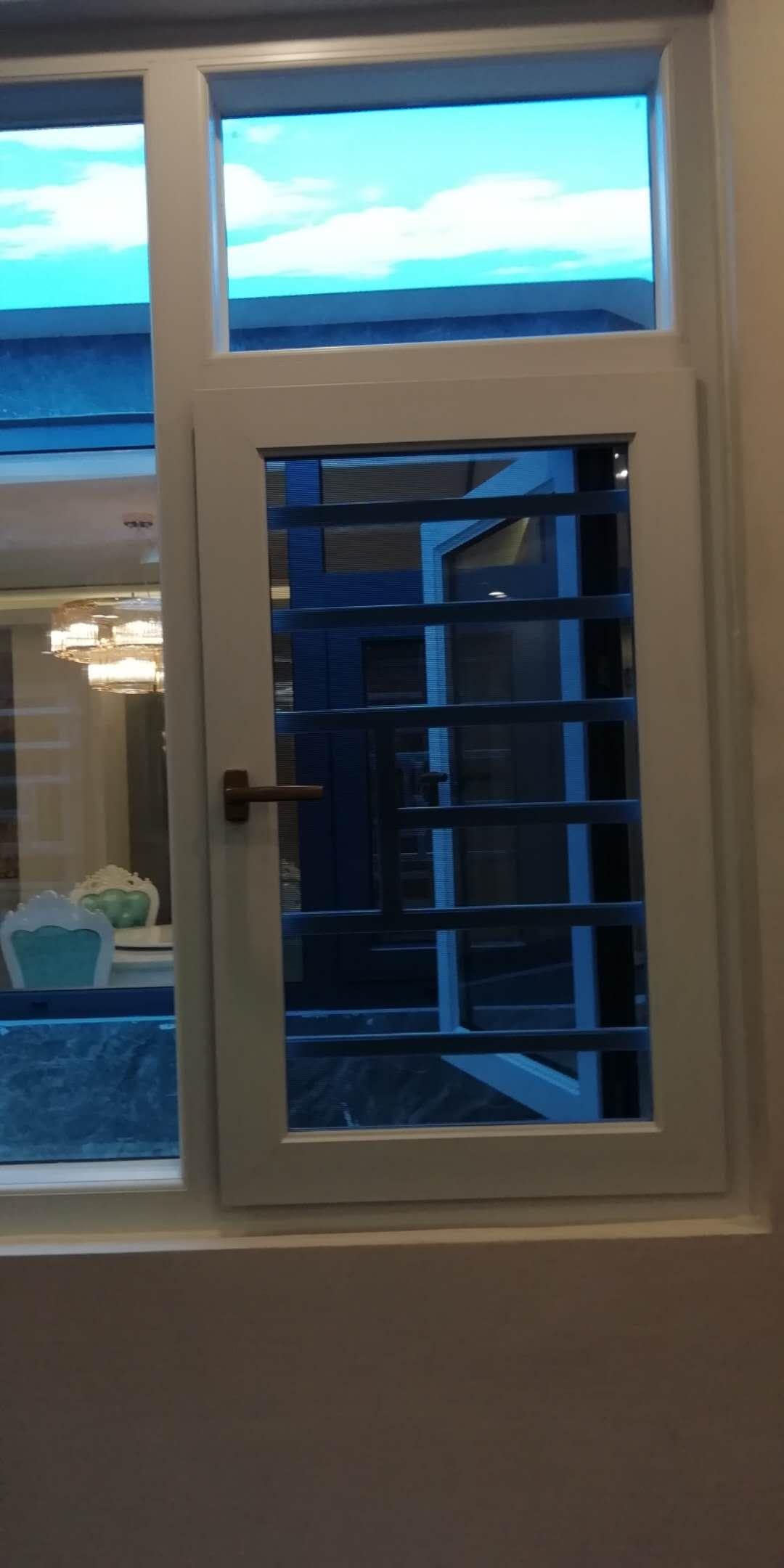 扇框平面断桥平开窗