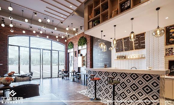 工信装饰:美式咖啡屋