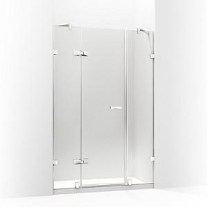 MEMOIRS® 梅玛 开门淋浴房 一字型(两扇固定玻璃 一扇门玻璃)