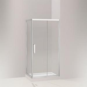 STANCE® 思丹 移门淋浴房 L型移门(两扇固定玻璃 一扇门玻璃)