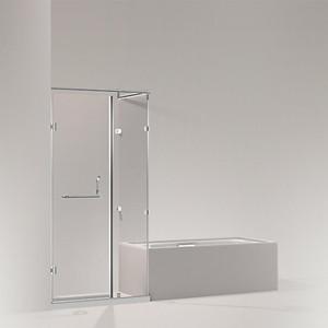 TRILOGY新绮多吉开门淋浴房,L 型(三扇固定玻璃 一扇门玻璃)