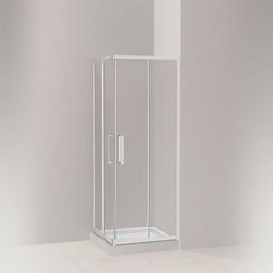 STANCE® 思丹 移门淋浴房 方型移门(两扇固定玻璃 两扇门玻璃)