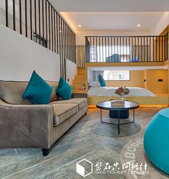 现代 | 集美6层楼民宅爆改成民宿 你一定喜欢!