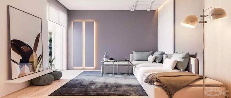 灰色系的装修让家变得不低调!这个颜色怎么这么好看~